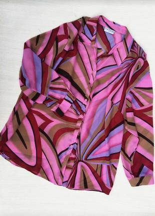 Стильная нарядная блузка,рубашка solar большого размера