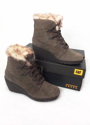 Тёплые зимние ботинки CAT
