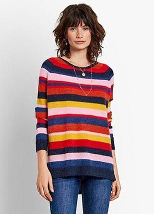 Яркий шерстяной джемпер свитер hush