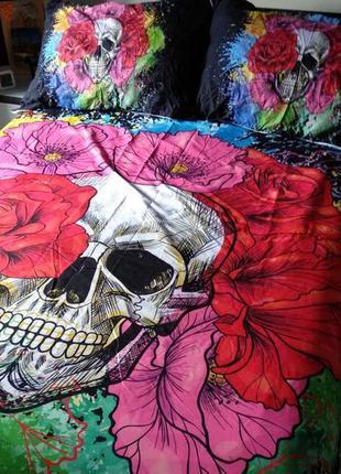 Комплект белья постель пододеяльник наволочки постельное бельё