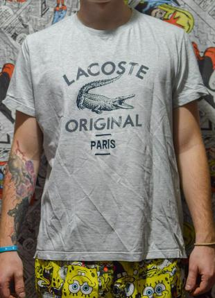 Футболка lacoste original paris