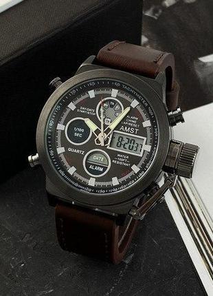 Мужские наручные часы AMST Стильные и неповторимые!Качество Швейц