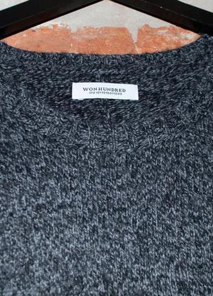 Оригинальный свитер-туника won hundred