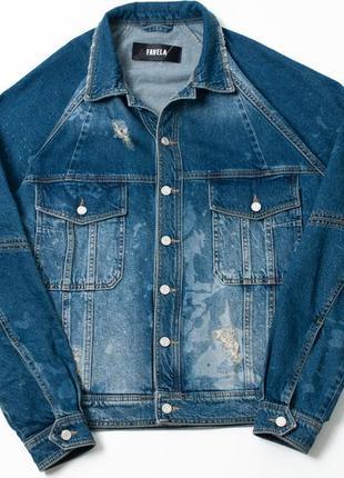 Favela reglan trucker jacket деним куртка levi's gucci dior