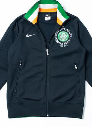 Nike celtic soccer jacket олимпийка