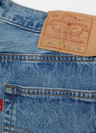Levi's 501 made in usa оригинальные аутентичные джинсы