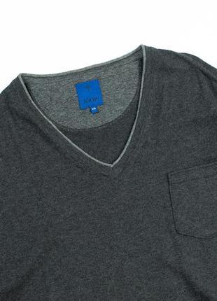 Joop gero мужской свитер с v вырезом котон кашемир hugo boss a...