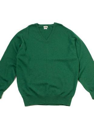 John laing мужской свитер v-вырезом кашемир