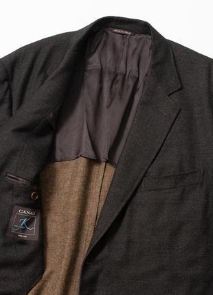Canali мужской бесподкладочный пиджак блейзер шерсть кашемир b...