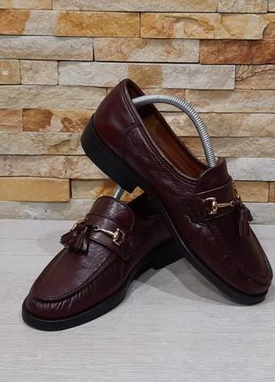 Мужские туфли лоферы gommus italy  размер 40