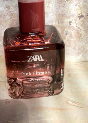 Духи zara pink flambé winter/парфуми/парфюм /туалетная вода