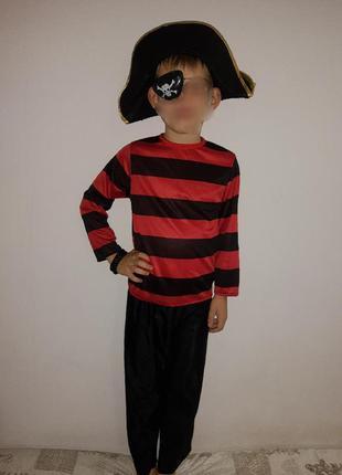 Карнавальный костюм детский пират на новый год/ хэллоуин