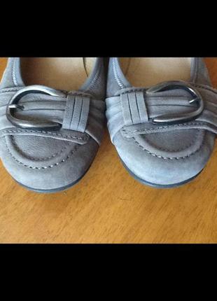Немецкие кожаные туфли gabor 40-41 (26.5-9)