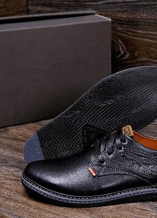 Кожаные туфли Levis(40-45р)