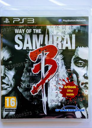 WAY of the SAMURAI 3 PS3 playstation 3 диск