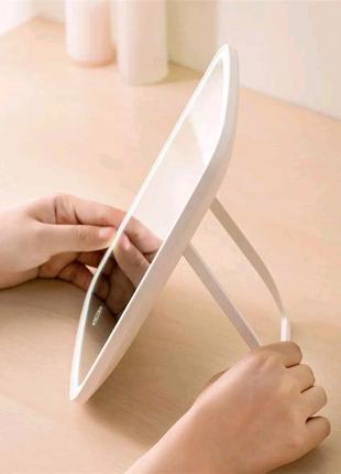 Зеркало Xiaomi Jordan & Judy для макияжа с LED подсветкой яркое!