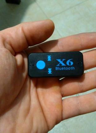 Блютус аудио приёмник ресивер с АКБ mp3 в авто со слотом micro SD