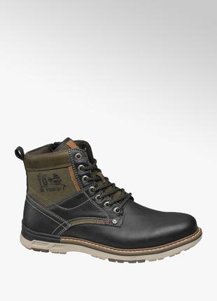 Демисезонные высокие ботинки
