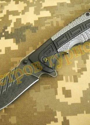 Нож складной TF919 бита стропорез клипса