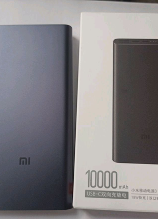 Xiaomi Mi Power Bank 3 10000 mAh USB-C
