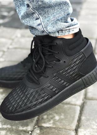 Adidas tubular invader eva black кроссовки мужские адидас