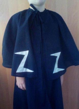 Карнавальный костюм детский зорро zorro на новый год