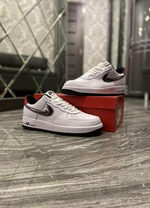 Nike air force 1 low white silver