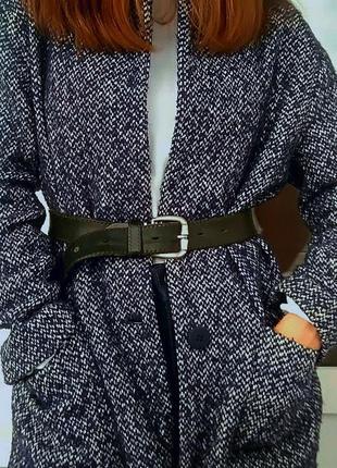 Стильное пальто -пиджак с карманами  zara 24 размер!