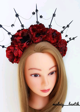 Обруч ободок для волос на хэллоуин в стиле хеллоуин