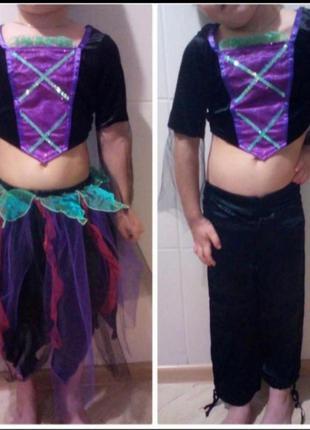 Карнавальный костюм на хэллоуин, костюм для танцев