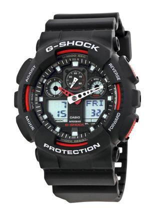 Часы мужские Casio G-Shock GA-100-1A4СR. Оригинал