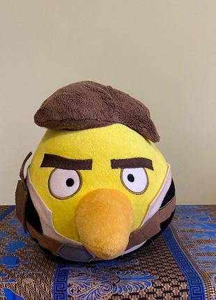 Мягкая игрушка Angry Birds star wars Хан Соло