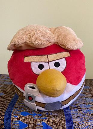 Мягкая игрушка Angry Birds star wars Люк Скайуокер