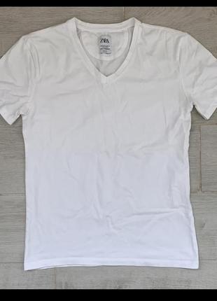 Базовая футболка мужская zara