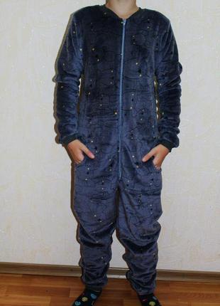 Комбинезон-кигуруми (пижама) махра мышка