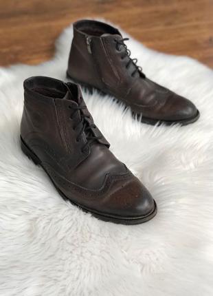 Туфли мужские Туфлі чоловічі під оксфорди ЦИГЕЙКА