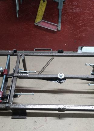 Станок для натяжки проволоки на рамок Универсальный, полу автомат