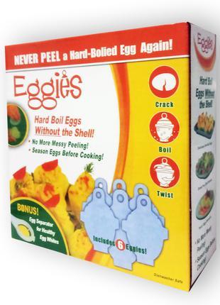 Форма для варки яиц без скорлупы (на 6шт)