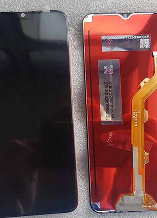 Дисплей в сборе с сенсором для Tecno Spark 4 (KC2)