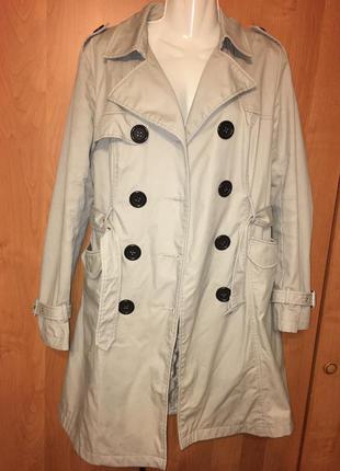 Пальто тренч плащ vila clothes