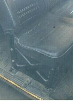 Крепление сидений, подиум с салазками Transporter T3