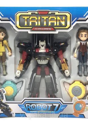 Робот-трансформер тобот Tobot  Tritan