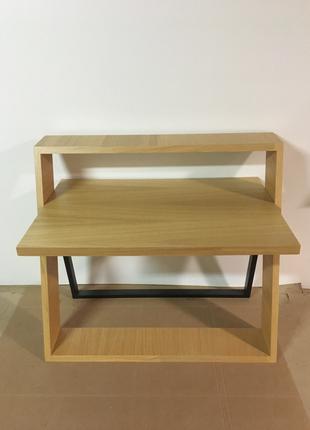 """Дизайнерский, письменный стол от мебельной компании """"Гарлен"""""""
