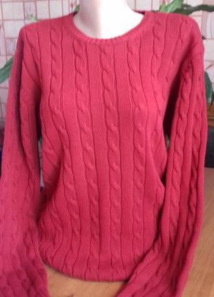 Мужской свитер вязаный, от marks & spencer