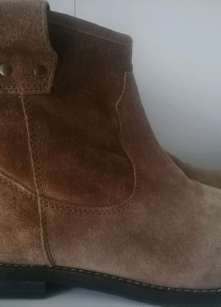 H&M кожаные ботинки шкіряні черевики р. 37 ст. 23,5 см