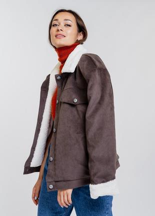 Женская вельветовая куртка
