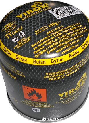 Газовый картридж Virok тип 200 190г балон