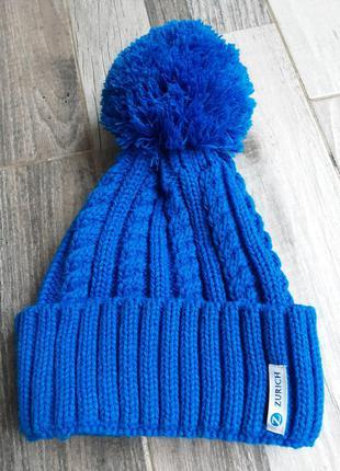 Теплая стильная шапка zurich