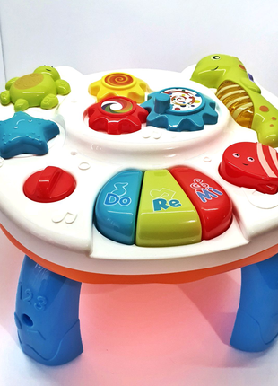Развивающий музикакальный столик, развивающая игрушка