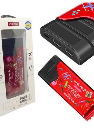 Зовнішній акумулятор Power Bank Joyroom Sugar D-M150 Red